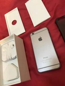 IPhone 6 64gb Space Grey Fullset good condition