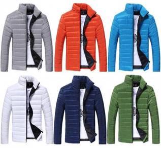 (369) Padded Winter Coat Mans Warm Sweater Jacket