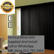 Simple Use Office Vertical Blind 34g4g
