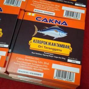 Sticker Label Produk Keropok Cetak Printing Online