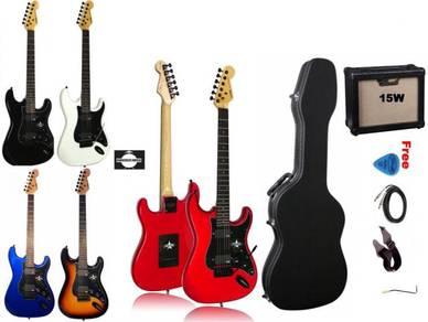 SQOE SEST210 SEST-210 Spain guitar(hardcase & AMP)
