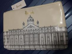 Authentic Harrods Cosmetic Bag