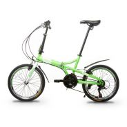 0% SST New Shimano Bicycle Folding 21Speed-Factory