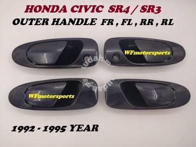 Honda Civic SR4 SR3 EG9 EG6 Outer Door Handle NEW