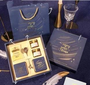 Mini Honey Gift Box Gold Blue (KG 101-GB)