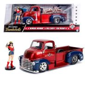 DC Bombshell- Wonder Woman & 1952 Chevy Coe Pickup