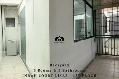 Indah court likas | school | hospital | kk