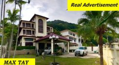3 Storey Bungalow WORTH BUY at Bukit Jambul with Land 1000 sqft