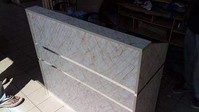 4FT Marble Style Wooden Counter Table TL920