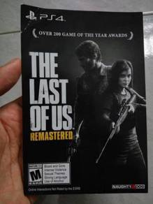 PS4 Game The Last of Us Digital English