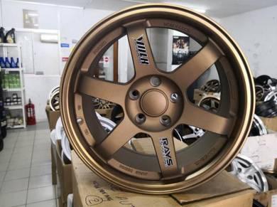 4pcs VOLK Racing TE37SL Design 17 Sport Rim New