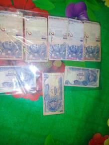 Rm1 & rm2 malaysia old money