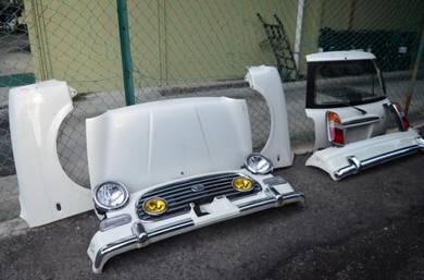 Kelisa gino l7 bodypart bumper bonet minilite JPN