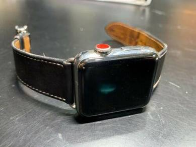 Hermes Apple SERIES 3 42mm Watch with Cellular