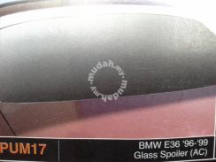 Bmw e36 96 to 99 glass spoiler without paint