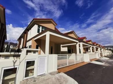 Brand New 2sty Semi D , Hijauan Hills , Tasek