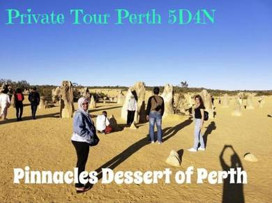 Perth 5D4N Pinnacles White Sand Lancelin Fremantle