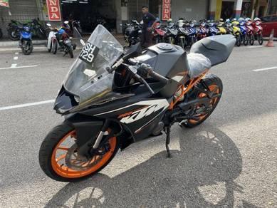 KTM RC 200 RC200 Muka Seratus Tip Top Condition