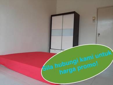 Promo: Bilik sewa, medium, full furnished, bukit chedang, seremban