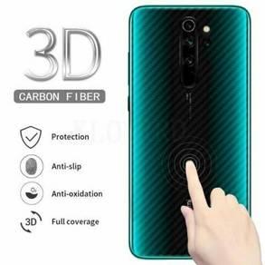Redmi note 8 pro 3D carban fiber