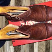 Kickers leathers boots