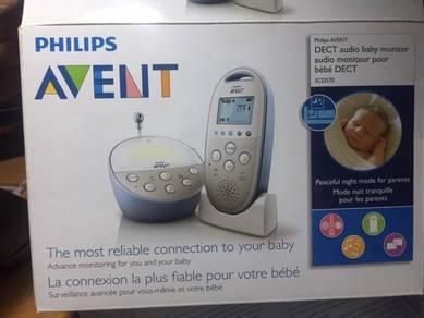Philips audio baby monitor