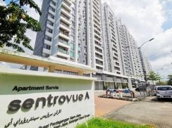 LOW LEVEL Sentrovue Service Apartment Alam Jaya Puncak Alam