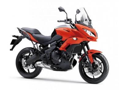 Kawasaki Versys 650 W AIROH HELMET - MOTOSING