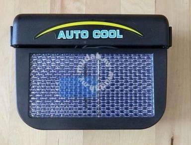 Auto Cooler Solar Powere Fan Ventilation auto cool