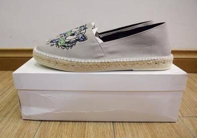 Kenzo Tiger light grey espradilles shoes