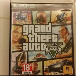 PS3 Games GTA5 & DJ Hero