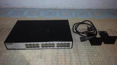 D-Link DGS 1024D 24 Port switch 1Gb