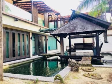 Taman Gaya Semi Extra land, HUNDRED PERCENT RENOVATION, CLOSE TO TOWN