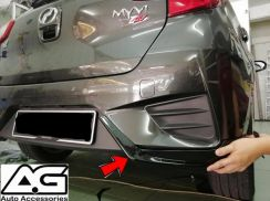 MYVI 2018 REAR BUMPER SKIRT OEM GEAR UP FREE insta