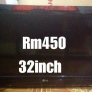 LG TV 32inch secondhand