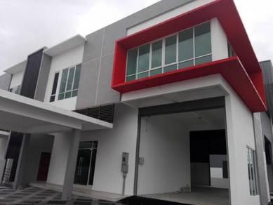 8,250 Sqft Semi-D Factory Cum Warehouse At Prai For Rent