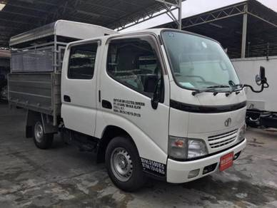Toyota Double Cab Steel Cargo Aluminium -Top 2018