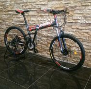 0% SST Bicycle MTB Folding Basikal Disc-Factory