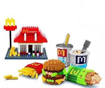 McD Mcdonald Collection Games kid Lego (1)