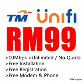 TM UNIFI Streamyx and Maxis Fibre Maxis Home