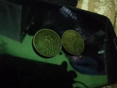 Syiling rm1 tahun 1991_1992