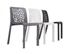 Designer Restaurant Home Use Chair 3007-GN Kajang