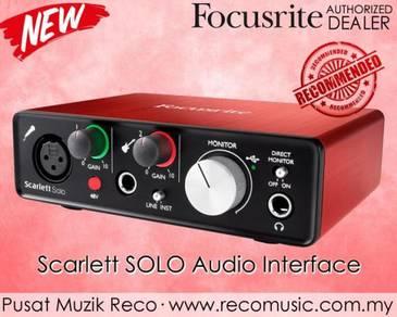 Focusrite Scarlett USB Audio Interface Solo 2ndGen