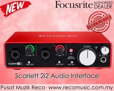 Focusrite Scarlett USB Audio Interface 2i2 2nd Gen