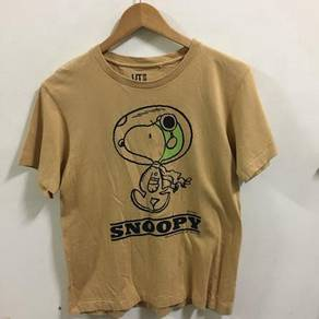 UT uniqlo Snoopy Shirt Size S