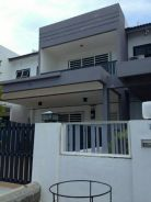 Double storey house in Venice. Lumut