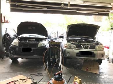 Toyota Rush Car Air Cond Service Open Dashboard