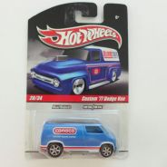 Hotwheels Hot Wheels Custom Dodge Van Conoco Blue
