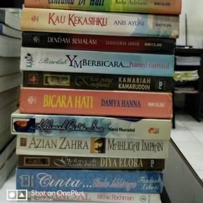 Novel2 Lama utk dijual.