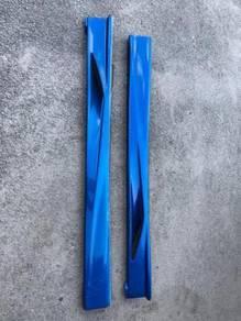 Subaru WRX STI Side Skirt Varis Style v8 v9